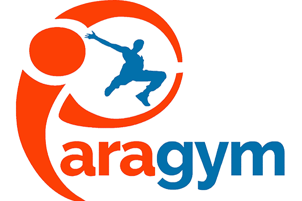 You who think that it is too late and that you can't! You can make a real progress in GYMNASTICS, PARKOUR and CIRCUS right now with Paragym in a fun and a safe environment! Logo